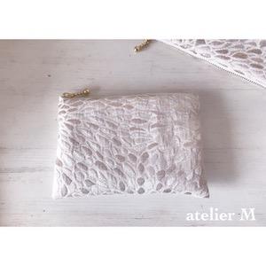 キラキラなジャガード織りのポーチ〜2種類目
