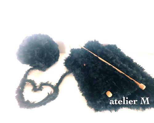 久しぶりの編み物