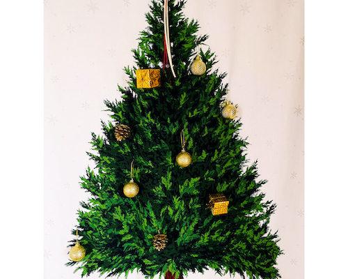 2020年のクリスマスツリー